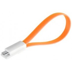 Magnetic Micro USB .22m Orange