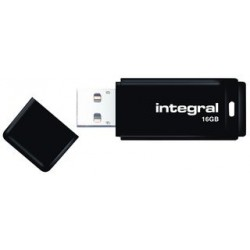 USB 2.0 Flash Drive 16GB Black