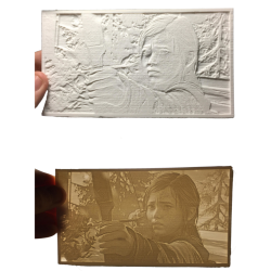 Personalised Lithophane Large