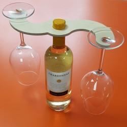 Twin Wine Glass Holder