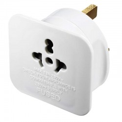Worldwide to UK Travel Adaptor